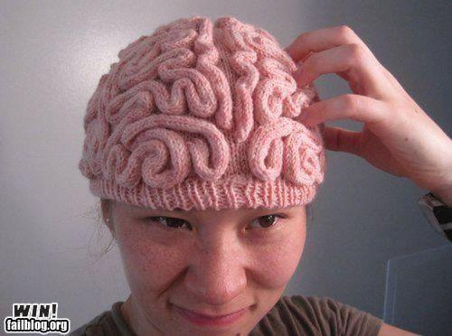 Knitting Takes Brains