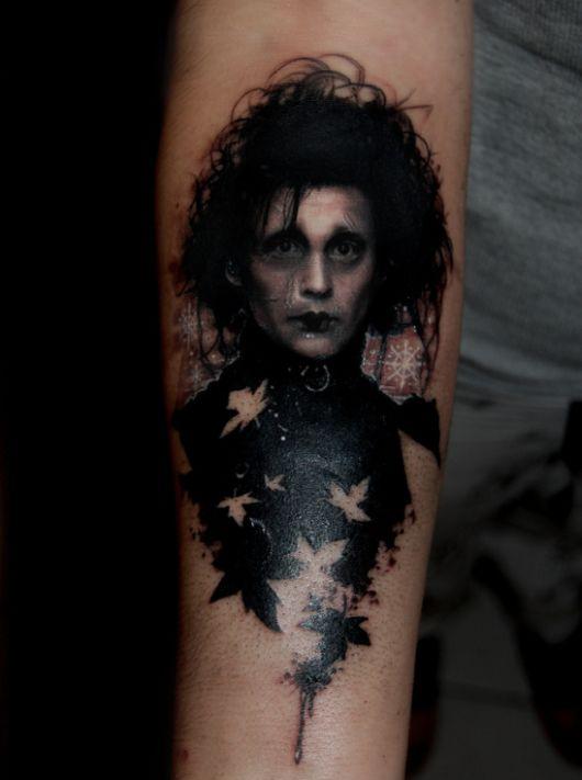 Edward Scissorhands: the Tattoo