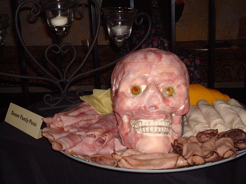 Halloween Food: Make a Meat Head