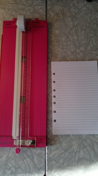 How To: Make Your Own A5 Filofax Filler Paper (2/6)