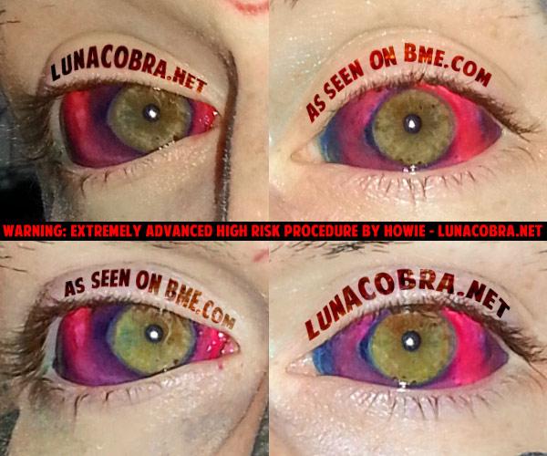 Real Life Horror: Eyeball Tattooing (3/4)