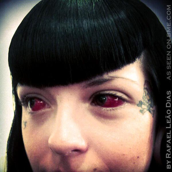 Real Life Horror: Eyeball Tattooing (1/4)