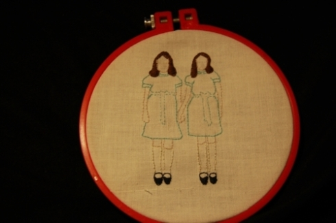 shining twins embroidery